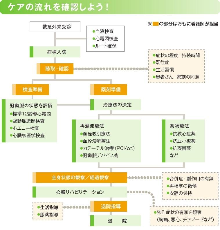 ケアの流れ説明図