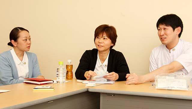 阿部さん、佐々木さん、板橋さんの写真