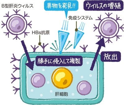 ウイルス攻撃のメカニズム説明図
