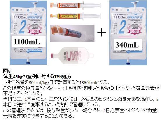 高カロリー輸液のキット製剤②