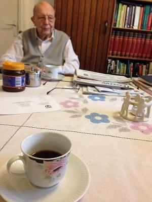 Aさんの淹れてくれたコーヒーの写真