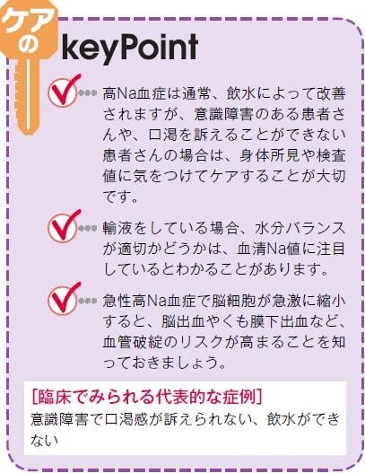 高ナトリウム血症の治療ポイント