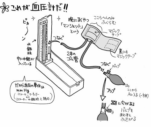 血圧計の全体像