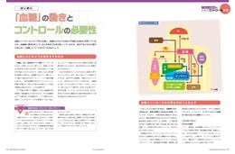 ナース専科2014年9月号『不安定な血糖値をコントロールする!』内容②