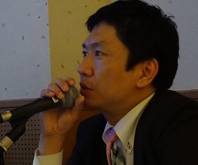 安部 正敏先生の写真