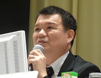 切手 俊弘先生の写真