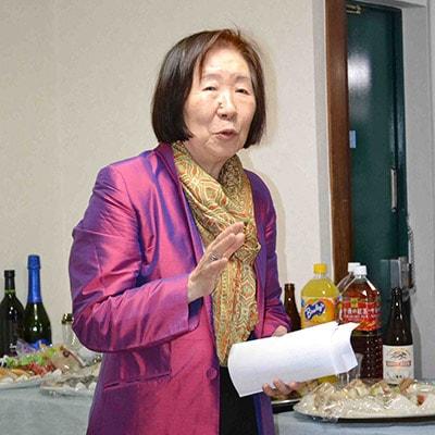笹川記念保健協力財団理事長の喜多悦子先生