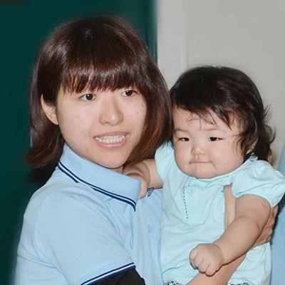 石川さんの娘さんとお孫さん