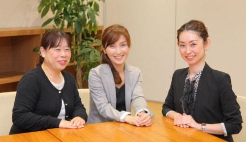浦田克美さん、斎藤容子さん、西島安芸子さんの写真
