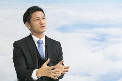 LE代表取締役・多江和晃さんの写真