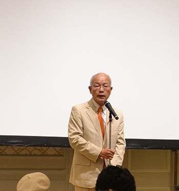 代表取締役社長の野渡和義さんの写真