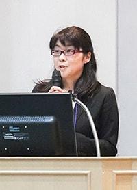 上畑陽子さん(東京大学大学院医学系研究科健康科学・看護学専攻 老年看護学/創傷看護学分野)の写真