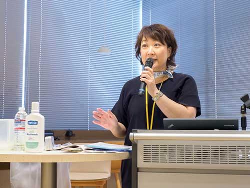 久保田 玲子(東邦大学医療センター 大森病院 がんセンター 口腔機能管理部 主任/歯科衛生士)の写真