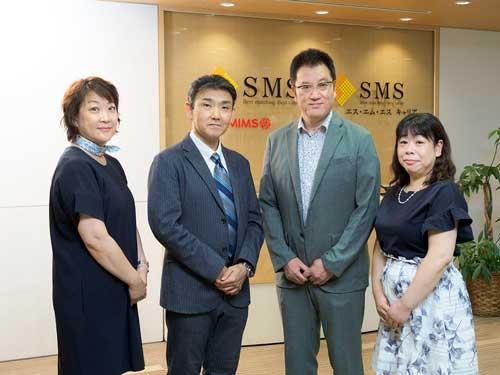 久保田 玲子先生、関谷 秀樹先生、清原 祥夫先生、西島 安芸子先生が横に並んでいる写真