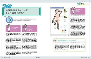 外用剤の副作用についてうまく説明できない!特集1ページ
