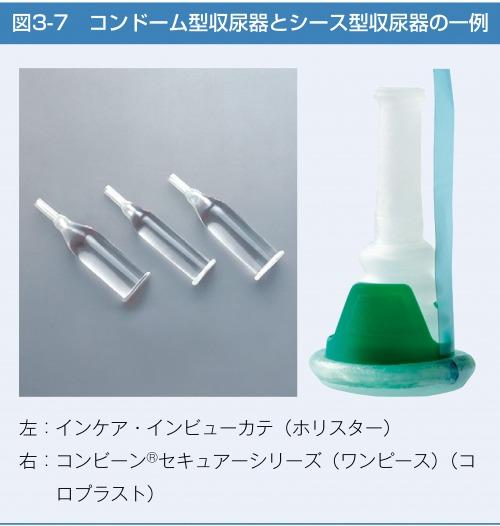 コンドーム型収尿器とシース型収尿器の一例