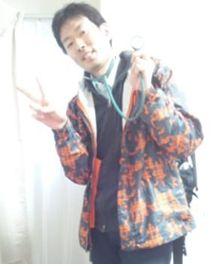 いまから訪問看護に向かおうとしている山川さんの写真