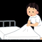 Bed sheet kangoshi