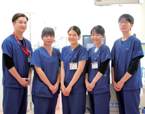 ICUメンバーの写真