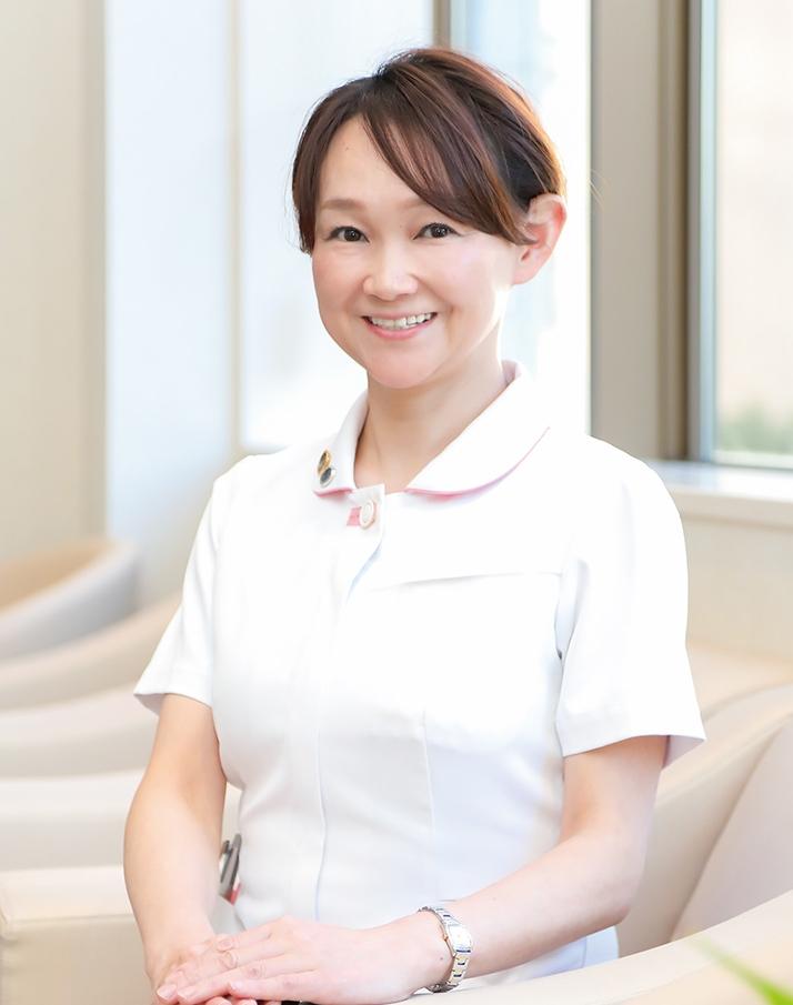 木澤晃代看護部長の写真