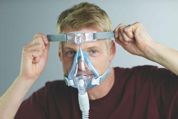 アマラフルフェイスマスク装着例